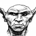 Tête de Gobelin, face