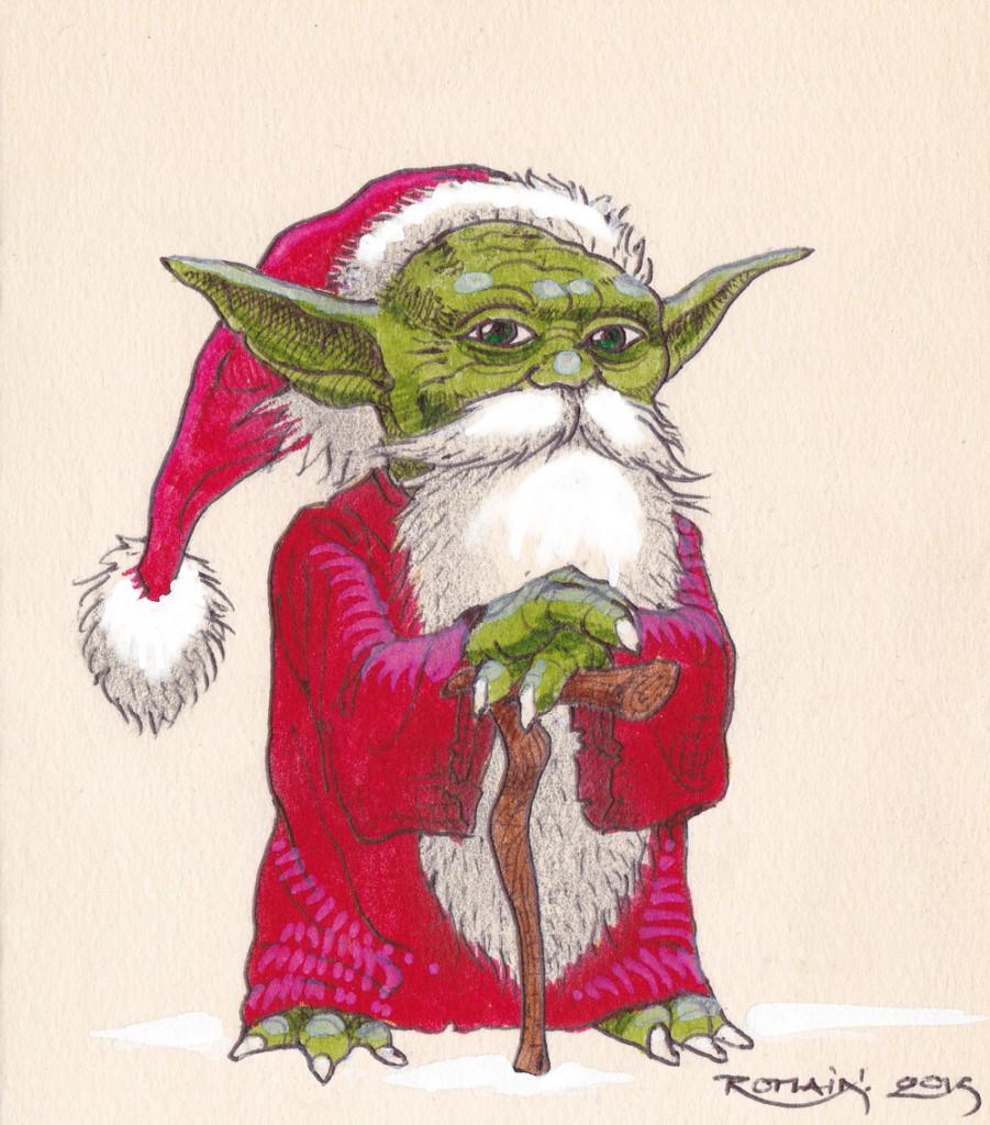 Petit Yoda Noël