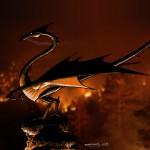 Dragon incendiaire , rendu final