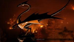 Dragon incendiaire , rendu final 1920x1080