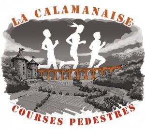 """Course pédestre """"La Calamanaise"""" : illustration 2016 - version 2"""