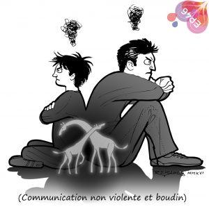 Communication non violente et boudin