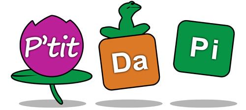 Pidapi : le logo pour P'tit Dapi
