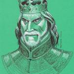 Inktober 2018 : Cruel King / Le roi cruel