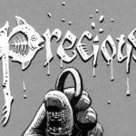 Inktober 2018 : Precious / Précieux : Calligraphie poissonneuse