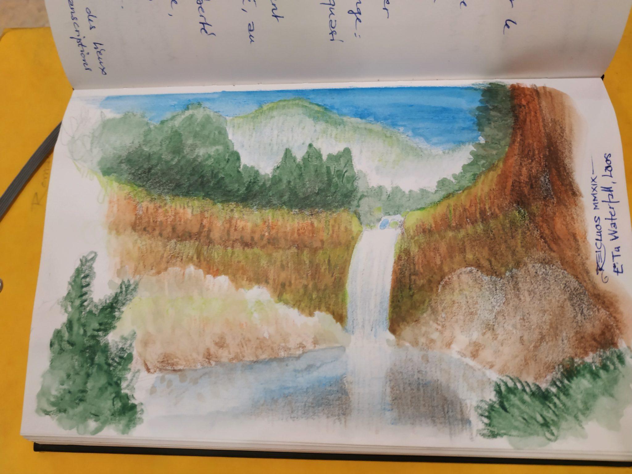 Carnet de vadrouille 2019 : E-Tu Waterfalls / Cascade de Itou (Laos)