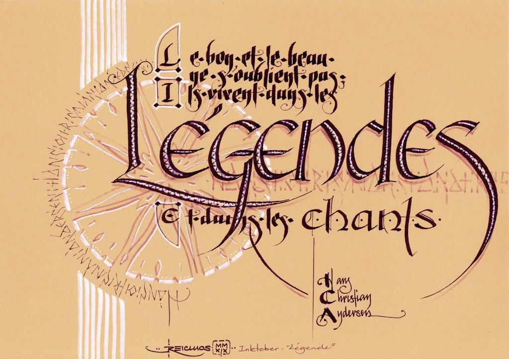 """""""Le bon et le beau ne s'oublient pas, ils vivent dans les légendes et dans les chants"""" Hans Christian Andersen"""