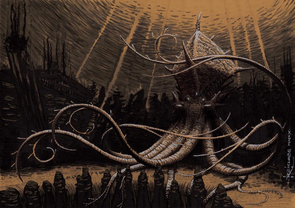 Pieuvre-Kraken
