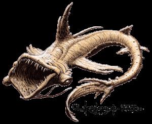 dragon des abysses - détouré