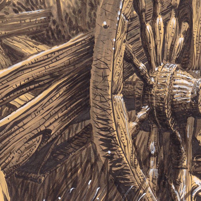 Festival des moissons - Harvest Festival - Détail : la roue