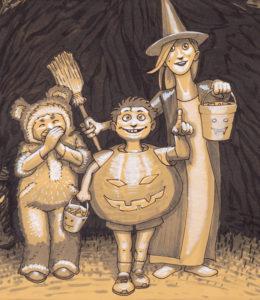 Folklore - Détail : enfants