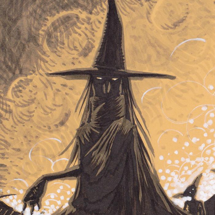 Folklore - Détail : la sorcière