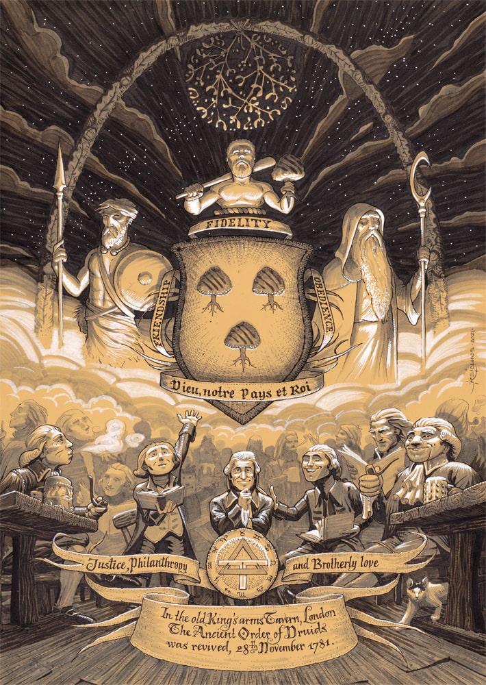 Novembre 1781, les Druides