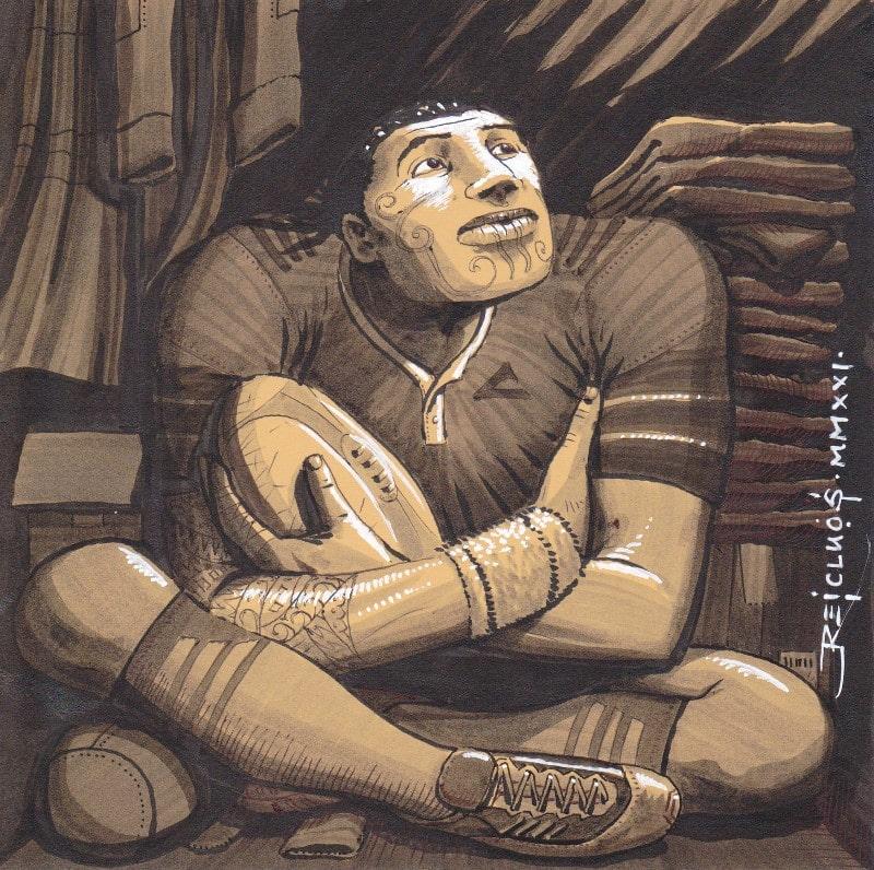 Portrait confiné 3 - Rugbyman