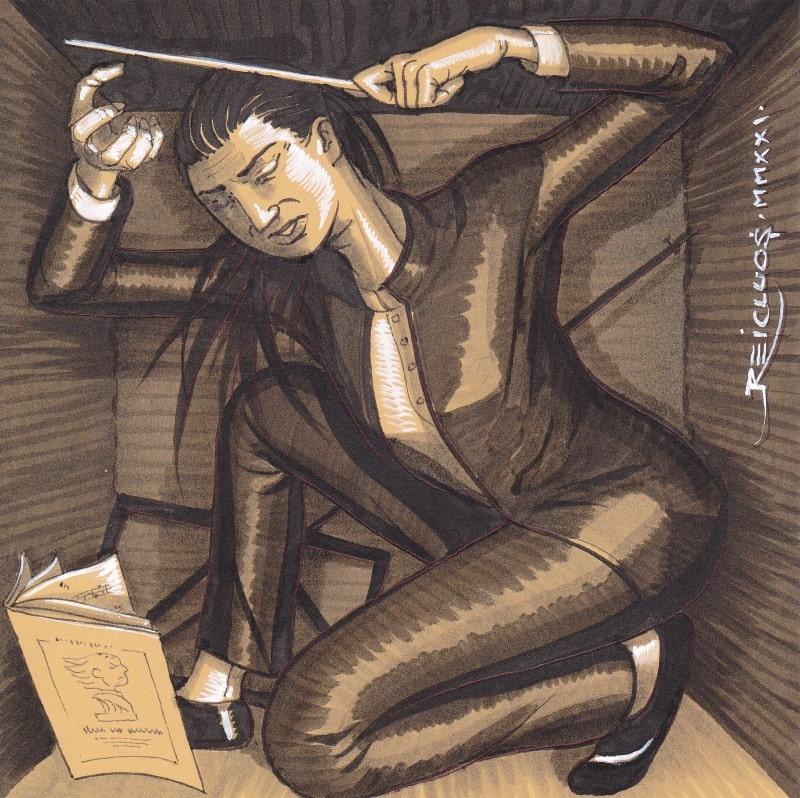 Portrait confiné 4 - Cheffe d'orchestre