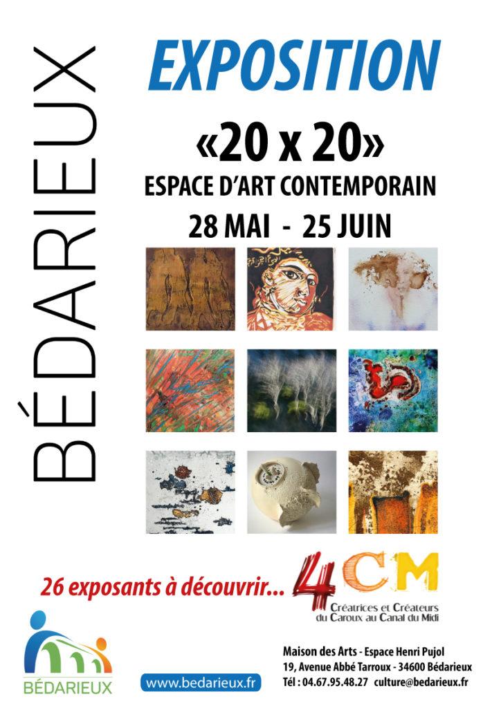 Expo 20x20 à Bédarieux